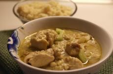 Grøn Karrypasta med kylling