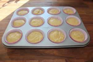 Citron muffins med glasur