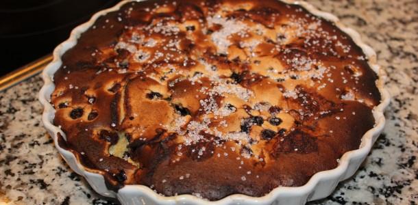 Blåbær tærte
