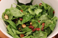 spinat, salat