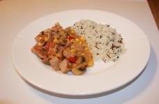 Sammenkogt med vilde ris, lækkert, nemt og noget for alle