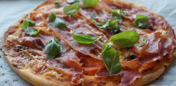 sund hjemmelavet pizza