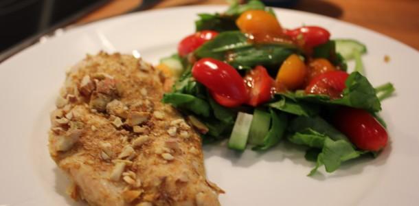Kylling fra Bali med lækker salat
