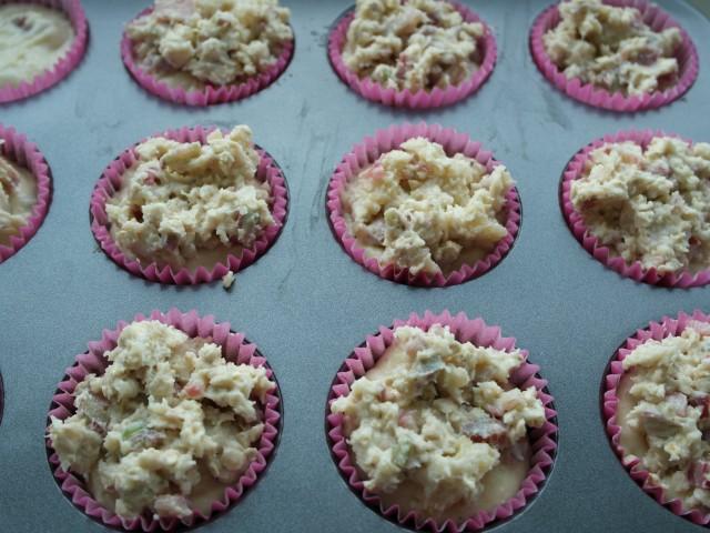 Muffins med smuldredej