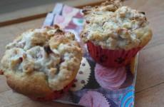 Lækre rabarber muffins