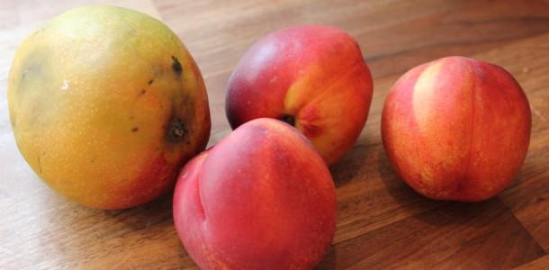 Mango og nektarin