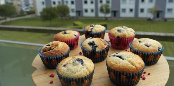muffins med bær