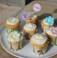 Cupcakes klar til at blive spist :)