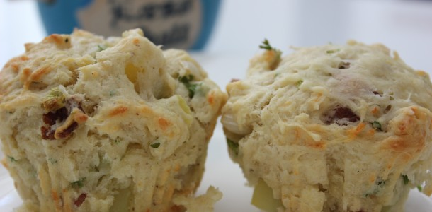 Muffins med grøntsager og kartofler