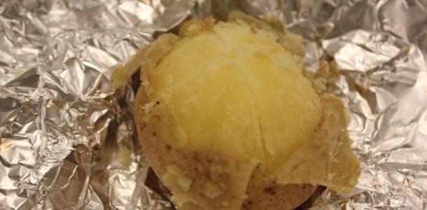 De bagte kartofler
