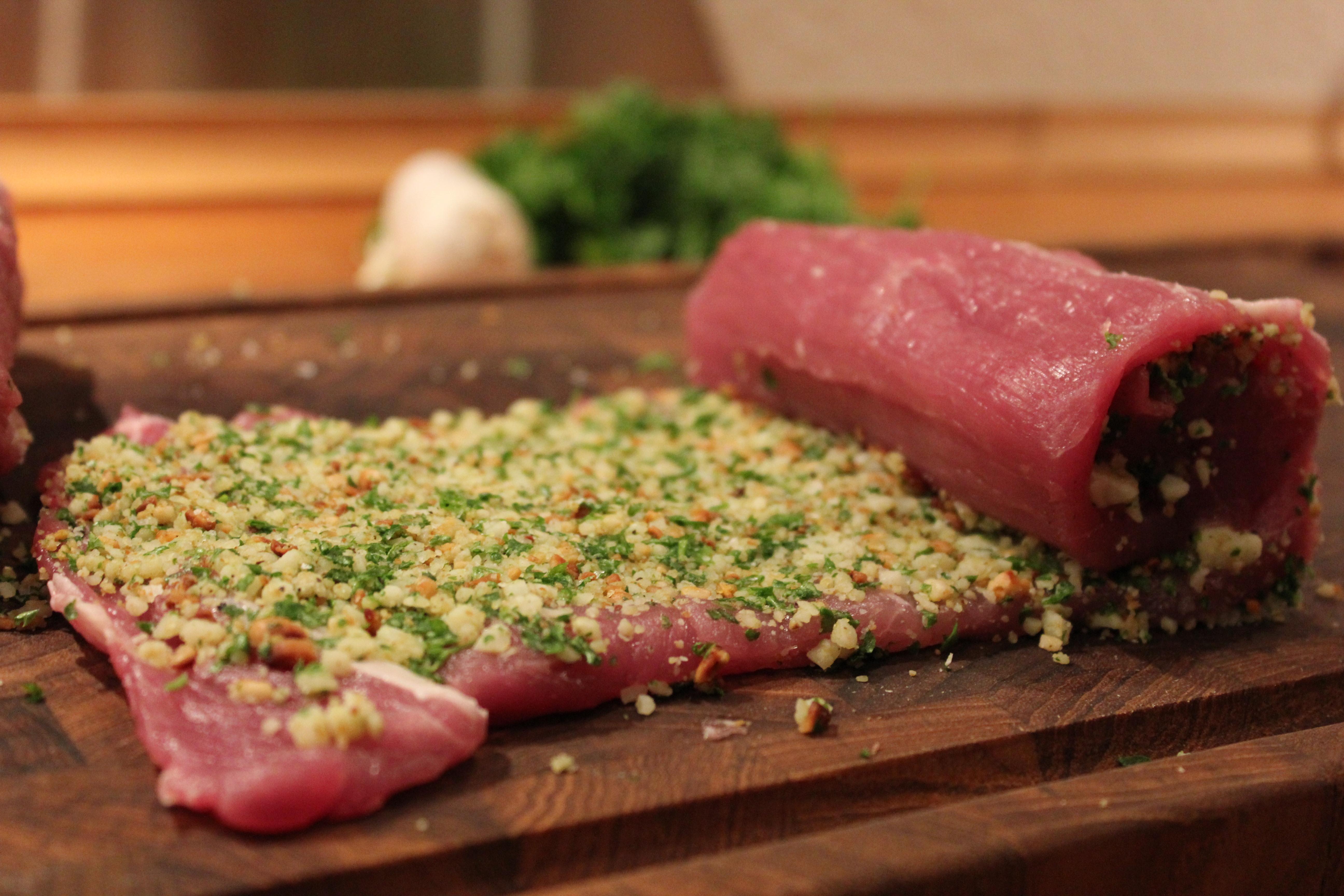 sund mad med svinemørbrad