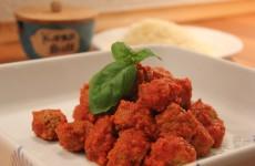 Kødboller i tomat - Italiens nydelse!