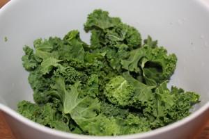 Grønkål til grønkåls salaten