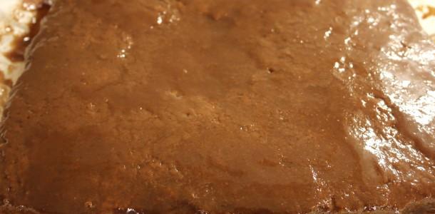 Maraboukagen med Chokolade