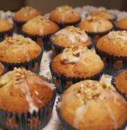 Muffins med pistacie