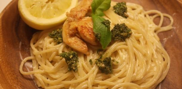 Citronfløde med pasta