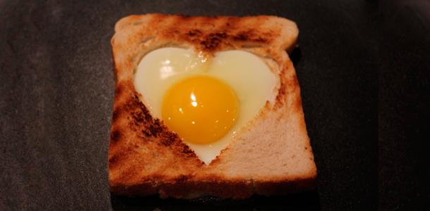 hjerte toast