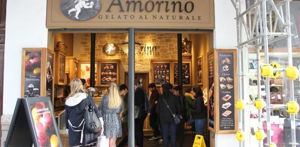 Amorino ice cream - et besøg værd!