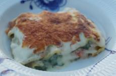 Den færdige lasagneret