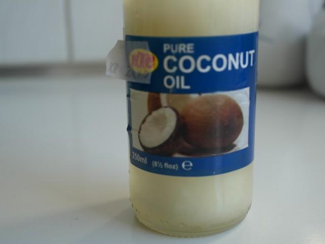 Kokosolie til pandekager
