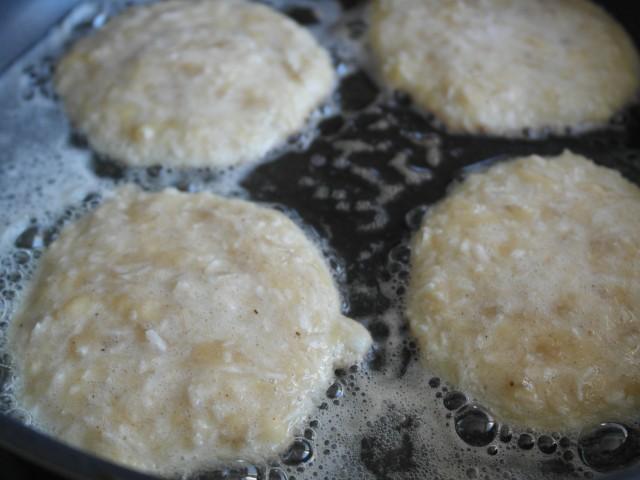 Glutenfri kokos banan pandekager