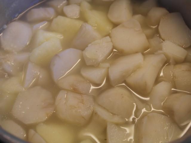 Færdig kogte rodfrugter